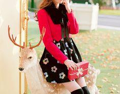 Cute Asian Fashion - Lollimobile.com Ulzzang Fashion, Harajuku Fashion, Korean Outfits, Korean Clothes, Fall Outfits, Casual Outfits, Cute Asian Fashion, Baggy Sweaters, Cute Skirts