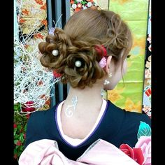 #犬山#美容院#犬山美容院#犬山美容室Diva#犬山成人式#可児#小牧#扶桑#江南#ヘアセット#ヘアアレンジ#成人式#成人式ヘア#成人式ヘアセット#着物#振袖#成人式前撮り Up Styles, Hair Styles, Kimono Japan, Hair Arrange, Japanese Hairstyle, Hair Reference, Japan Fashion, Hair Designs, Bun Hairstyles
