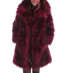 Kitty Kat Faux Fur Coat
