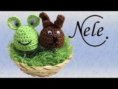 Häkeln für Anfänger, Eierwärmer häkeln, DIY - Anleitung by Nele C. - YouTube