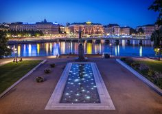 Stockholm summer evening by Anders E. Skånberg on 500px
