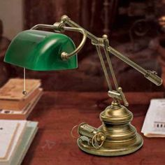 Lampa stołowa Belleville w antycznym stylu 6515038