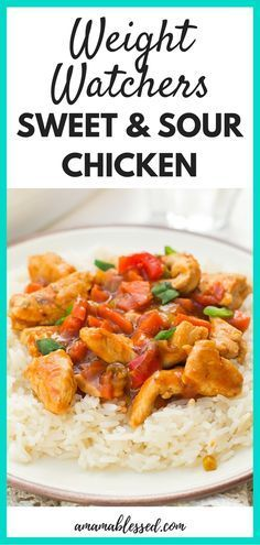 Are you searching for delicious Weight Watchers Freestyle meals and recipes? You won't be disappointed with this easy crock pot or slow cooker sweet and sour chicken recipe. This recipe is with points and includes Smartpoints and tastes just like take out! #weightwatchers #weightwatchersfreestyle #smartpoints #healthyeating #lowcarbrecipes #lowcalorierecipes #slowcookerrecipes #slowcooker #crockpot #easyrecipes #sweetandsourchicken #takeout