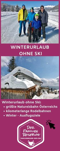 Winter vacation with children without skis : -> WINTER HOLIDAY WITH CHILDREN WITHOUT SKI – 15 x winter tips without skis – there are so many great experiences in winter without skis – here are our 15 best! Winter Christmas, Winter Holidays, Jordan Travel, Winter Hacks, Reisen In Europa, Photo Search, Pinterest Photos, Winter Garden, Camping Ideas