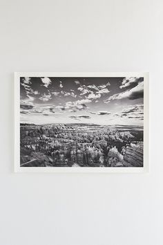 Aaron Morris Bryce Canyon Art Print - Urban Outfitters