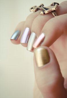 Metalizadas :-) adorei !