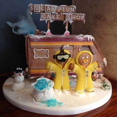 """Have A Methy Christmas With This """"Breaking Bad"""" Gingerbread House...""""Jesse! Let's cook, nay… bake."""""""