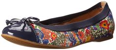 Sperry Top-Sider Women's Elise Liberty Ballet Flat, Bright Blue, 8.5 M US