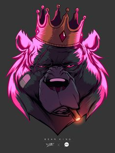 Bear King Colors by pacman23 on DeviantArt