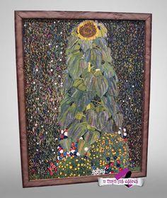 Gustav Klimt, Frames, Painting, Art, Sunflowers, Art Background, Frame, Painting Art, Kunst
