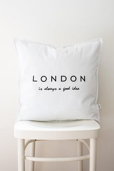 London lettering cushion cover pillowcase,word cushion,word pillow,monochrome cushion,wedding gift,decorative pillow, gift Typography Cushions, All Covers, Lettering Design, Cushion Covers, Monochrome, Decorative Pillows, Wedding Gifts, Bed Pillows, Pillow Cases