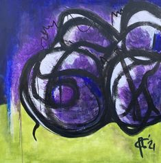 Acryl op linnen, 110 x 110 cm Inspiratie: Cobra, Miro, Brood Picasso, Canvas, Paintings, Tela, Paint, Painting Art, Canvases, Painting, Painted Canvas