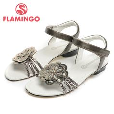 US $19.13 -- FLAMINGO 2016 new arrival summer kids shoes fashion high quality 100% fashion children sandals for girl QS4748 aliexpress.com