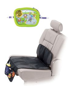 Look at this Munchkin AutoSeat Protector & Travel Tray on #zulily today!