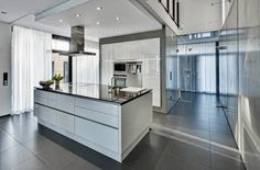 Minimalist Kitchen - Simple Design for a Residential House in Brunswick, Germany