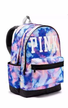 Victoria's Secret VS PINK Tie Dye Tye Die Campus Backpack Bookbag *NWT*