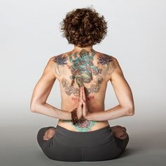 Michelle Haymoz Yoga tattoos.