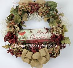 Christmas Wreath-Grapevine Holiday Door Wreath-Christmas Front Door Wreath-Christmas Door Wreath-Large Holiday Wreath-Outdoor Wreath by WreathRibbonsAndBows on Etsy