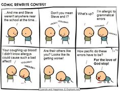 Allergic to grammatical errors?