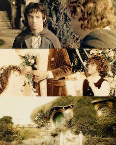 Frodo and Sam <3
