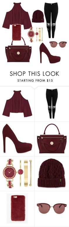 """""""Untitled #59"""" by sydneyoo on Polyvore featuring W118 by Walter Baker, Boohoo, ALDO, Hill & Friends, Anne Klein, Dr. Martens, Missguided and Oliver Peoples"""