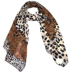 Premium Leopard Animal Print Soft Chiffon Scarf - 70-in/Section Print. Tapp Collections is a registered trademark (Reg. No. 5,030,606) owned and operated by Tapp Collections, Inc. Tapp Collections products are sold exclusively by Tapp Collections authorized retailers. Any registered trademark (Reg. No. 5,030,606) infringement will be reported to Amazon. This fashionable Chiffon Scarf with Leopard Print is the perfect finishing touch to almost any outfit. Perfect fashion accessory for any…