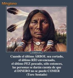 Proverbios indios sioux sobre la naturaleza