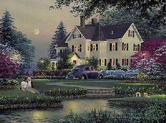 """""""Courtyard"""" - William Phillips"""