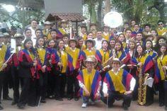 Banda de cajicá Cundinamarca, ganadora en concurso Departamental.