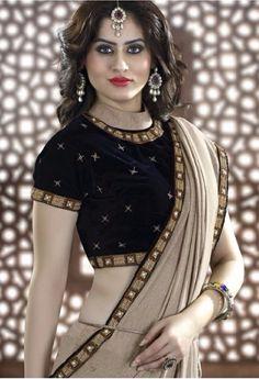 Cream Designer Rajsthani Resham Saree@ fashionsbyindia.com #designs #indian #fashion #womens #style #cloths #fashion #stylish #casual #fashionsbyindia #punjabi #suits #saree #wedding #blouse