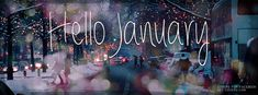 Get this Hello January Facebook Covers for your profile from Get-Covers.com.