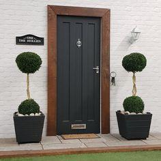 2 x Buxus 4-4.5ft Duo Ball Twisted Stem Topiary Inc Choice of Luxury Planter #trees #palmtrees #wetmyplants #indoorplants #olivetrees #baytree #houseplants #gardendesign #baytreewedding