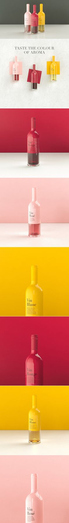 A Slick Wine Bottle Concept that Merges the Senses — The Dieline | Packaging & Branding Design & Innovation News