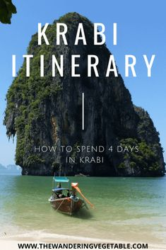 The Ultimate Krabi Itinerary