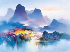 пейзажи Hong Leung – 16