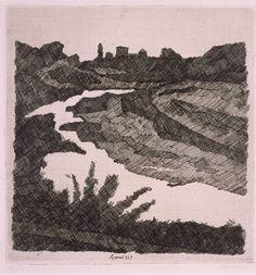 """""""Savena Landscape""""  Giorgio Morandi"""