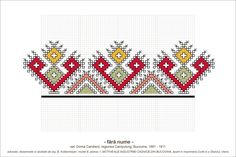 Semne Cusute Cross Stitch Hoop, Cross Stitch Letters, Cross Stitch Needles, Cross Stitch Borders, Cross Stitch Art, Cross Stitching, Cross Stitch Embroidery, Palestinian Embroidery, Hungarian Embroidery