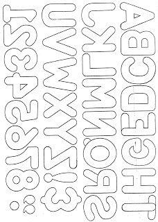 Artesanato e Cia: alfabeto para aplicação