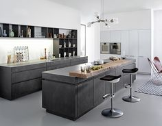 Leicht   Kitchen Cabinets From Concrete