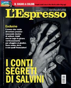 La copertina dell'Espresso in edicola da domenica 1 aprile