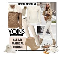 """""""Yoins"""" by ina-kis ❤ liked on Polyvore featuring J Brand, Forever 21, casualoutfit, brown, beige and yoins"""