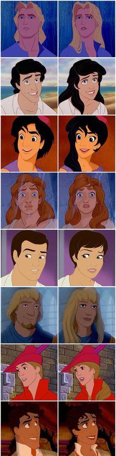 Disney gender swap