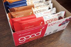 Good Greens Wellness Bars - loving these - especially the chocolate chunk!