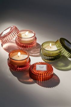 Shop Chloe Mini Glass Candle at Urban Outfitters today.