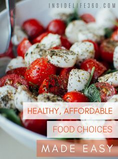 It's a common belief that eating healthy is more expensive. Well the truth is, eating healthy can be quick, easy and affordable. You can have value without compromise. Use these smart shopping strategies to save time and money as you work your way toward a healthier approach to eating within your budget.