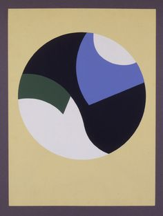 Composition à Cercles. Composition with Circles. 1934. Sophie Taeuber-Arp - William Weston Gallery