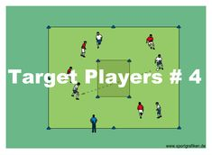 http://www.top-soccer-drills.com/target-players--4.html  #SoccerLongPassingDrills #Soccer #Long #Passing #Drills