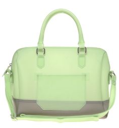 frosted green bowling bag by ASOS $53