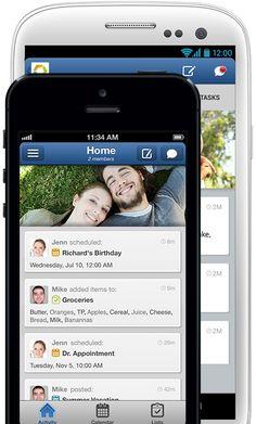 Hub - Home & Family Organizer. Shared Calendar, Todo List, Notes, Chores & Tasks. For Android & iPhone iPad iOS.