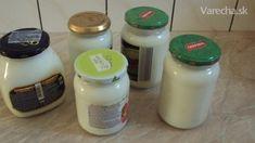 Domáci jogurt (fotorecept) Kefir, Salt And Pepper, Ale, Food And Drink, Stuffed Peppers, Kitchen, Cucina, Beer, Cooking